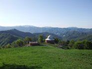Partenza dall'Osservatorio  Astronomico