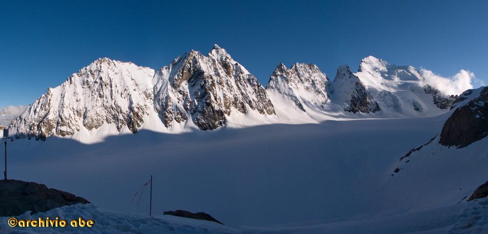 Glacier Blanc dal rifugio