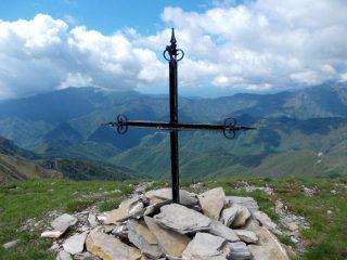 la croce sul m.Monega