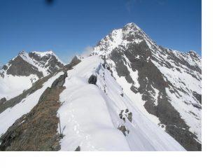 La Tersiva dalla cresta ovest al M.Moussaillon