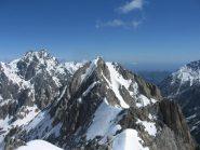 Testa di Bresses N. e Mte Matto sullo sfondo.