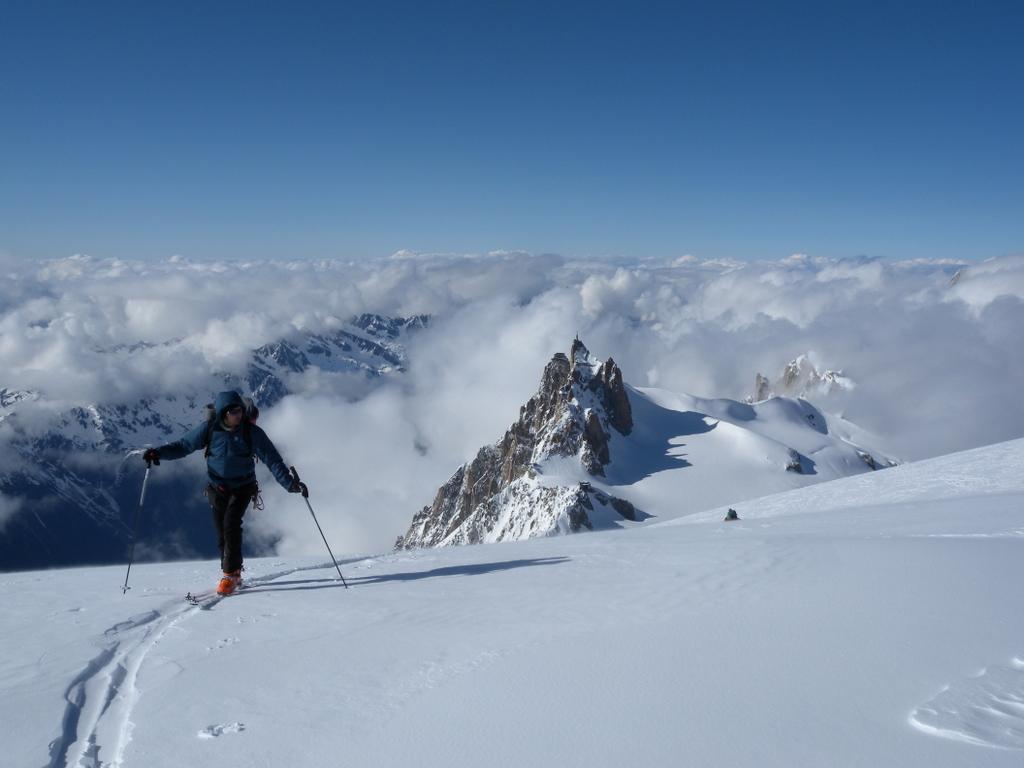 Tacul (Mont Blanc du) dal Rifugio Torino o Aiguille du Midi 2013-05-12