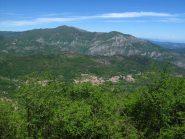 Panorama verso il Monte Carmo