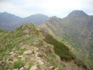 cresta dal Luvot al Castello di Gavala
