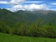 Verso le Alpi le nuvole avanzano