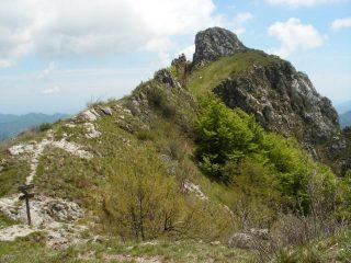 cresta dal Passo Caranche
