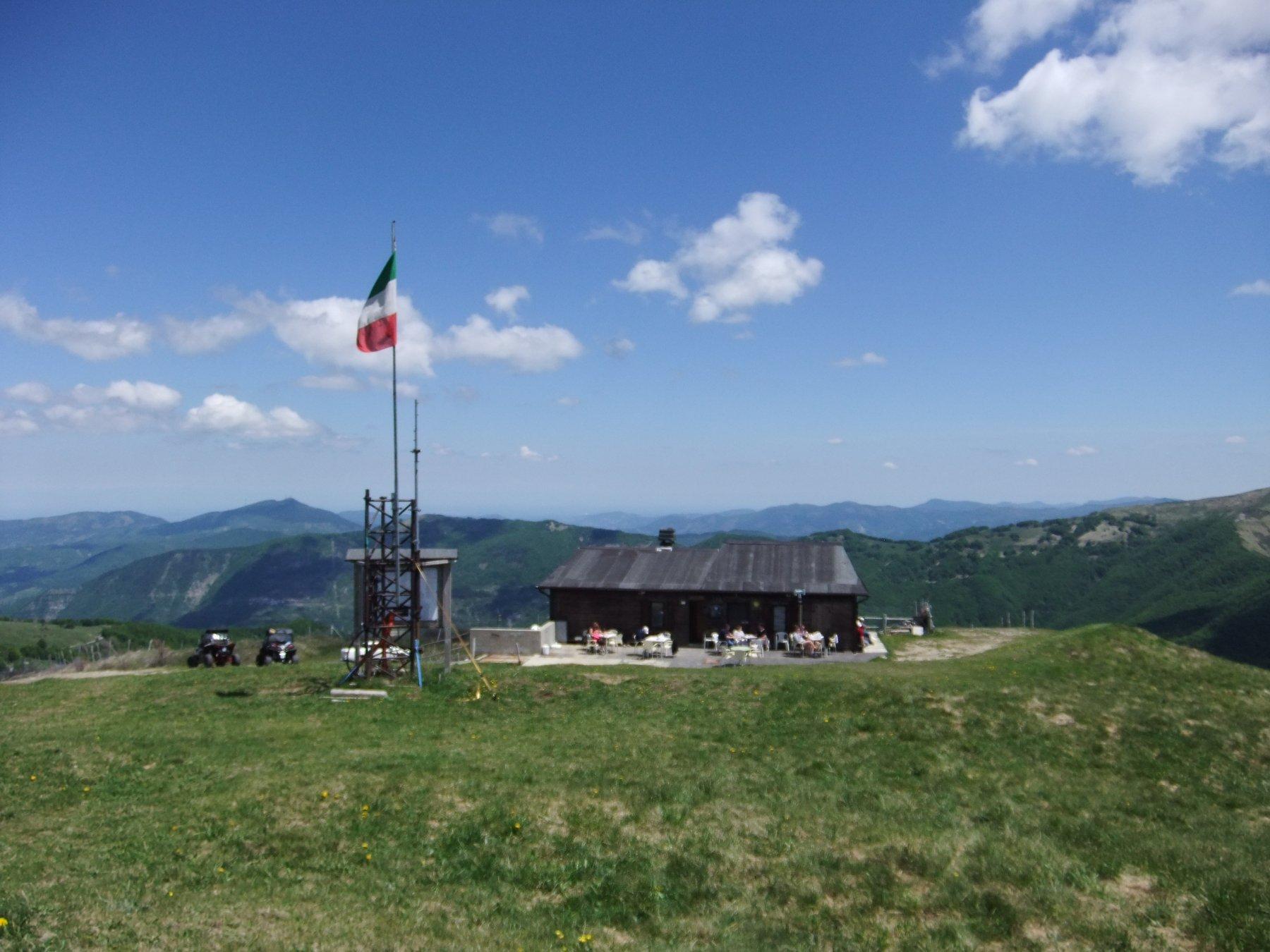 Rifugio sul Monte Chiappo