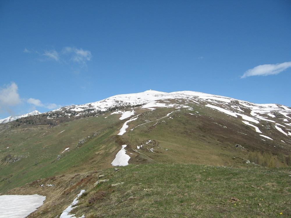 Verso il monte Gardiulot
