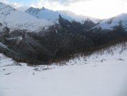 La neve comincia da 2000 m ca.