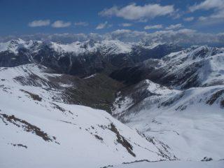 dal Pebrun, vista verso Ferrere