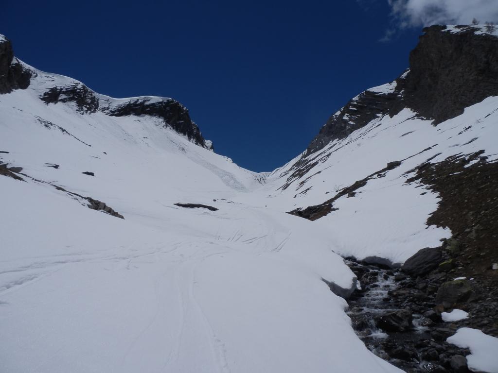 situazione neve nella prima strettoia