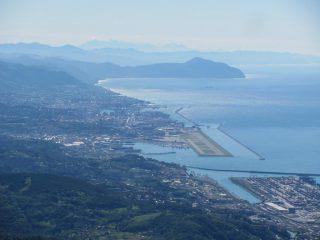 Genova, Portofino e Apuane  dal M. Reixa