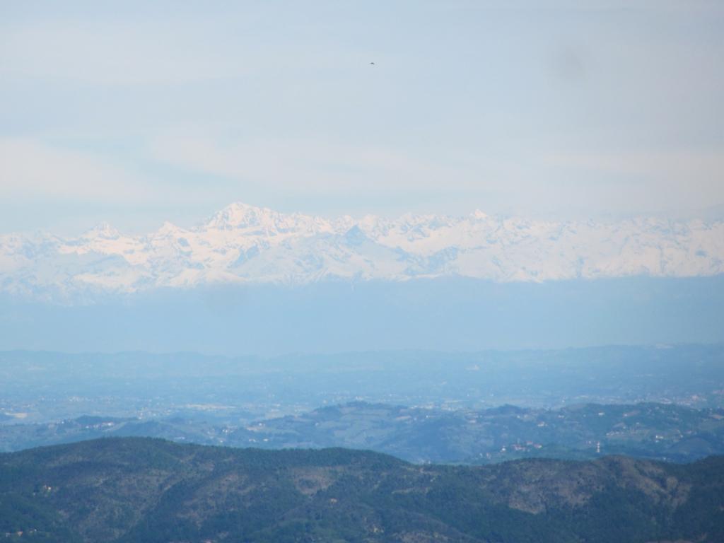 le Alpi con il M. Bianco