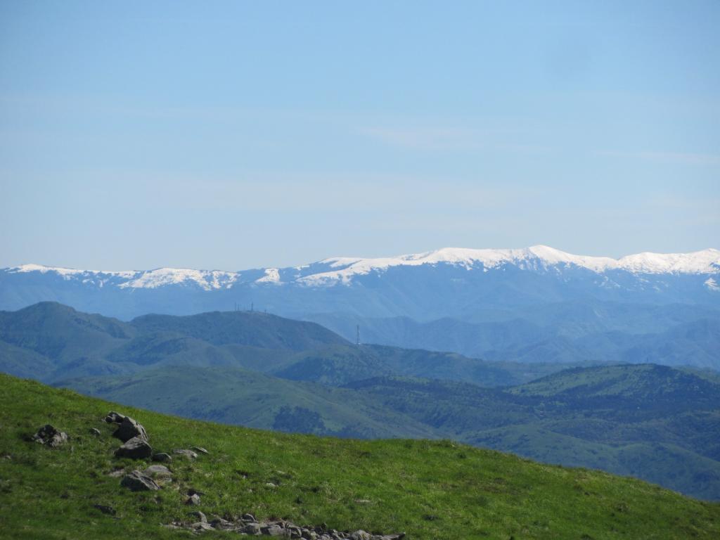 I monti dell'Antola innevati
