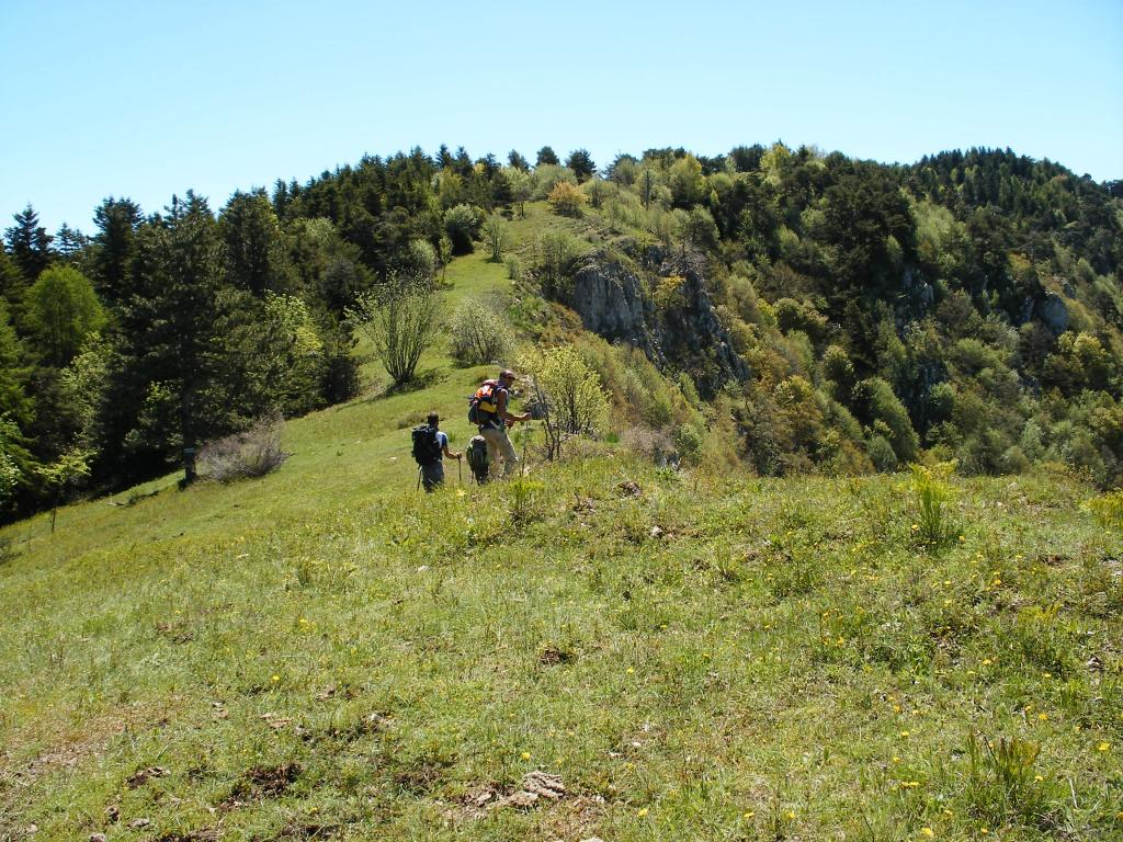 crinali verso la Tete d'Alpe