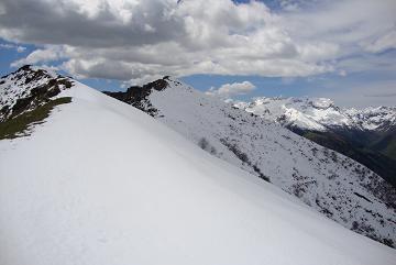 la cima Voccani e la cima delle balme