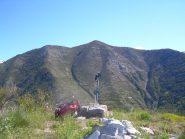 Il monte Bergiorin visto dal Chaberta.
