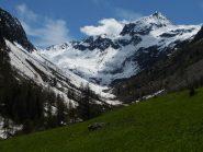 situazione neve nel Vallone di San Bernolfo