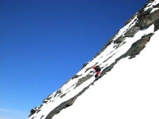 Alain tra cielo e neve