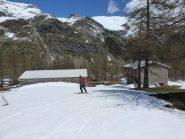 Arrivo all'alpe Ghiaire