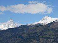 Il Cervino e il M. Tantanè dall'alpe Cretaz-Ciardon