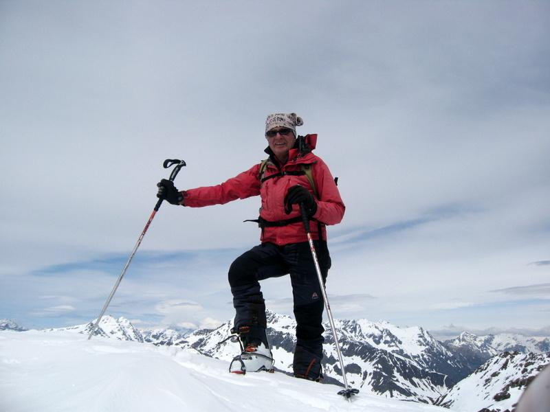 Un'altra bella figura di sci alpinista (Walkerwolf)
