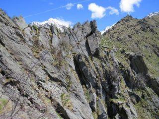 Versante sud-est del Monte Alto