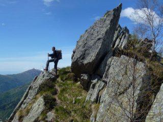 Blin a pochi metri dal Monte Alto