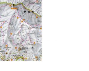 Mappa zona Sud del M. Massone