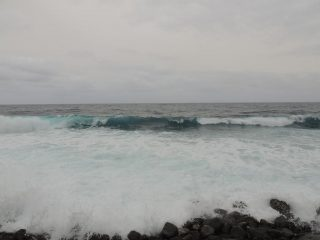 L'arrivo : l'oceano
