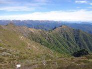 la cresta dal Gavala al Bec d'Ovaga
