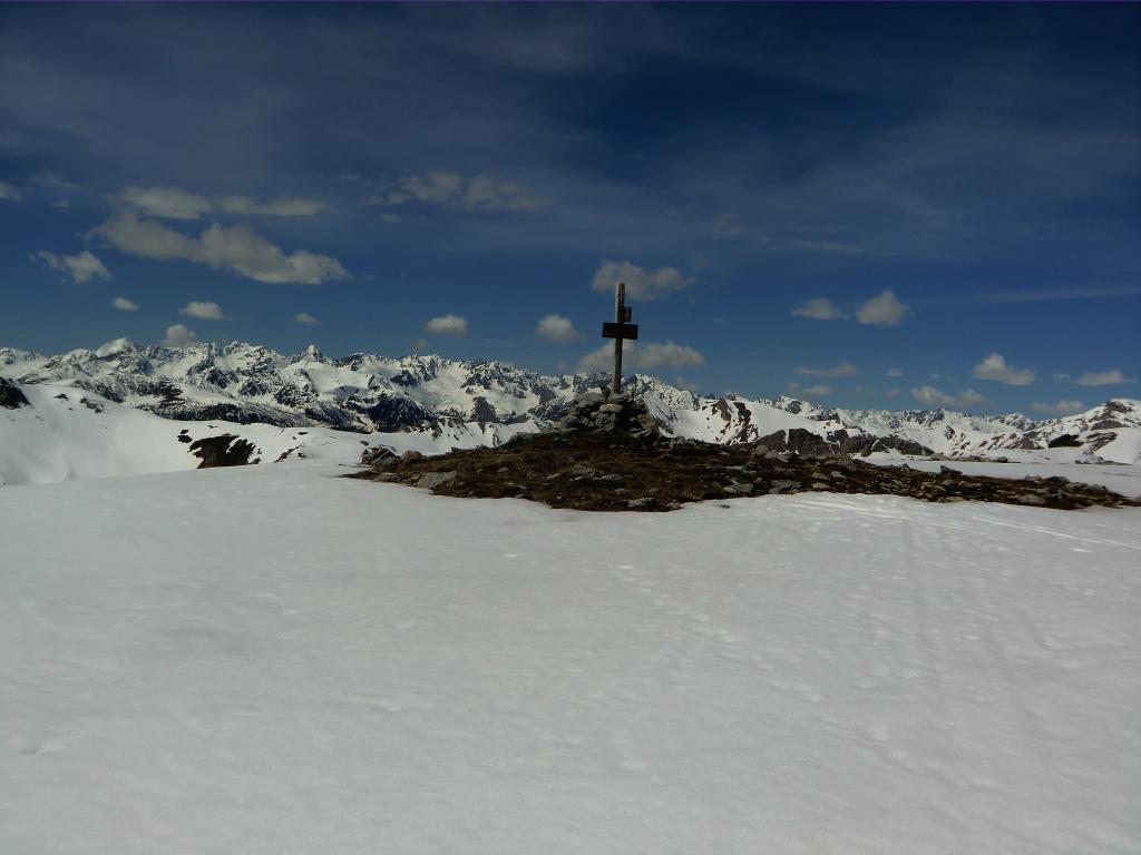 Fauniera (Cima) da Santuario di San Magno per il Vallone Parvo 2013-06-02