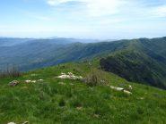 Panorama verso il Colle d'Oggia