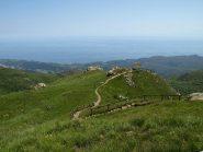 La Cappelletta degli Alpini vista dal Riparo Casa della Miniera