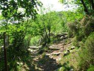Bivio per il Monte Ravinet