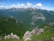 Panorama verso Antoroto, Pizzo d'Ormea, ecc