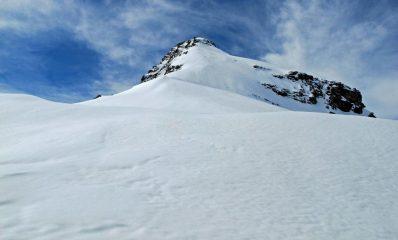 Punta Fourà vista dal colle
