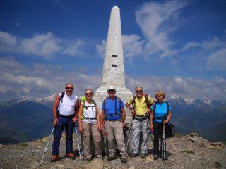 Monte Saccarello 2200mt.