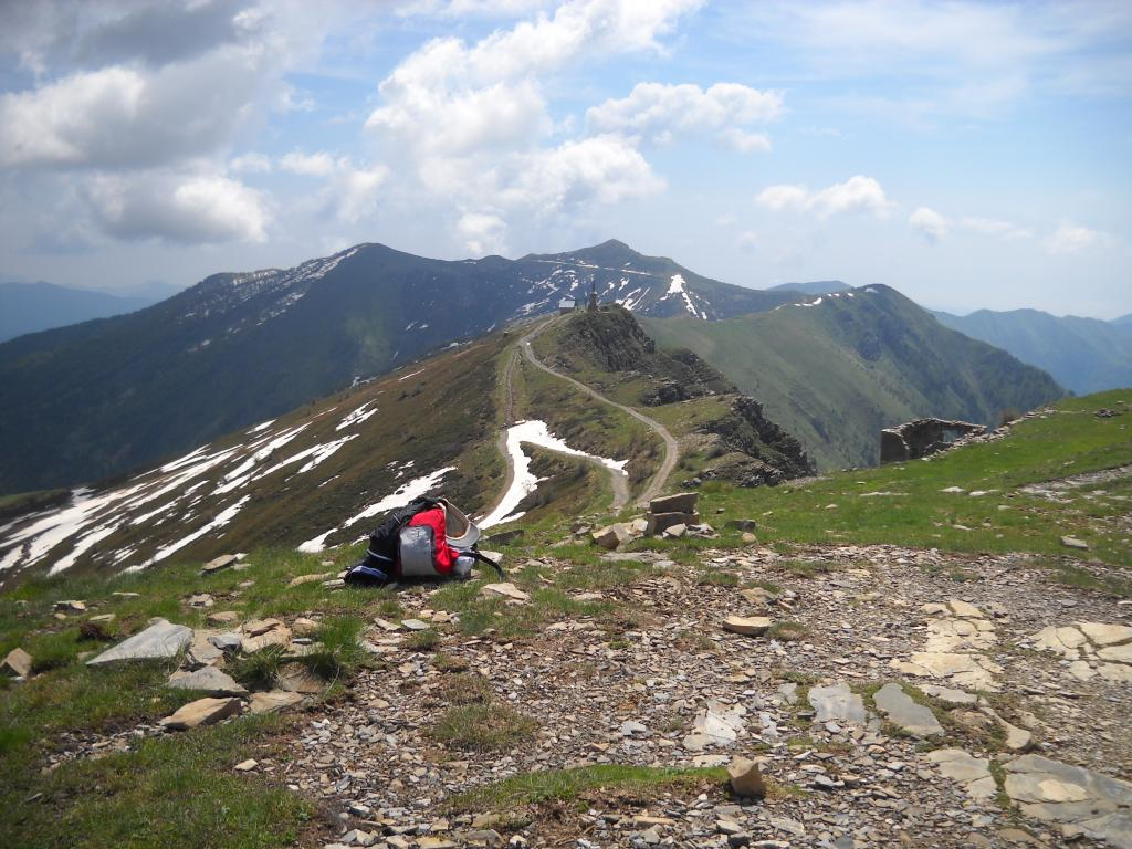 Saccarello (Monte) e Monte Frontè da Case Penna 2013-06-12