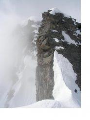 Prime torri della traversata cresta di mezzenile dal Dom Blanc du Mulinet