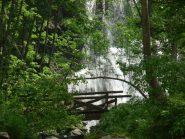 una delle cascate del saut
