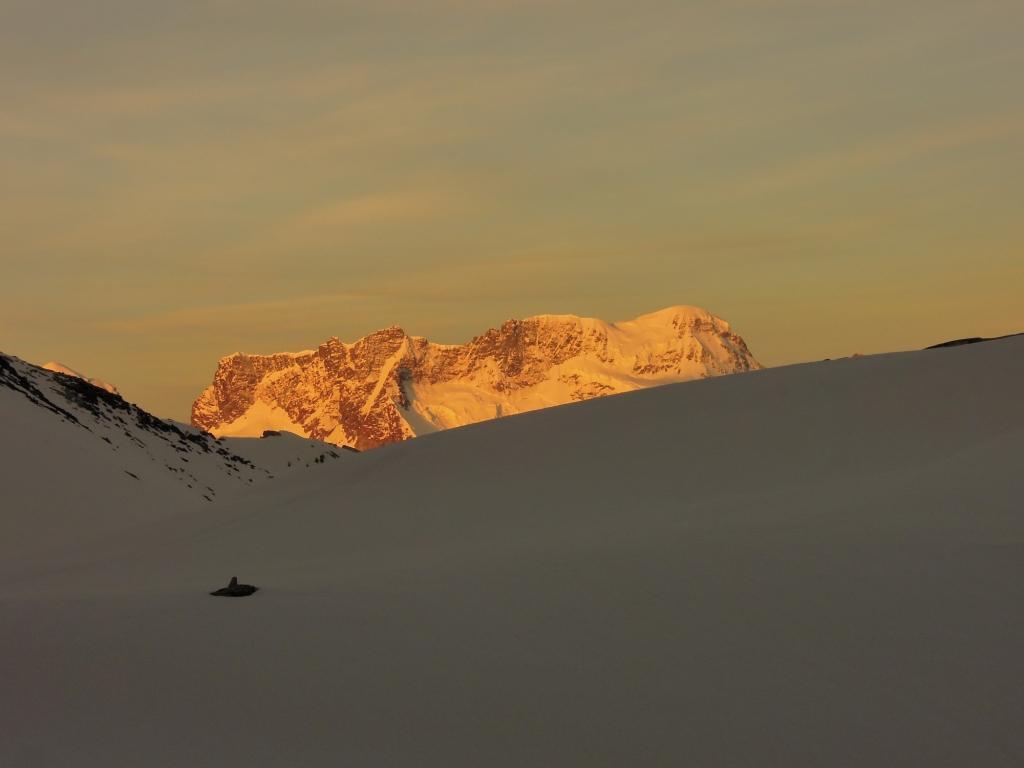 Alba sul Breithorn