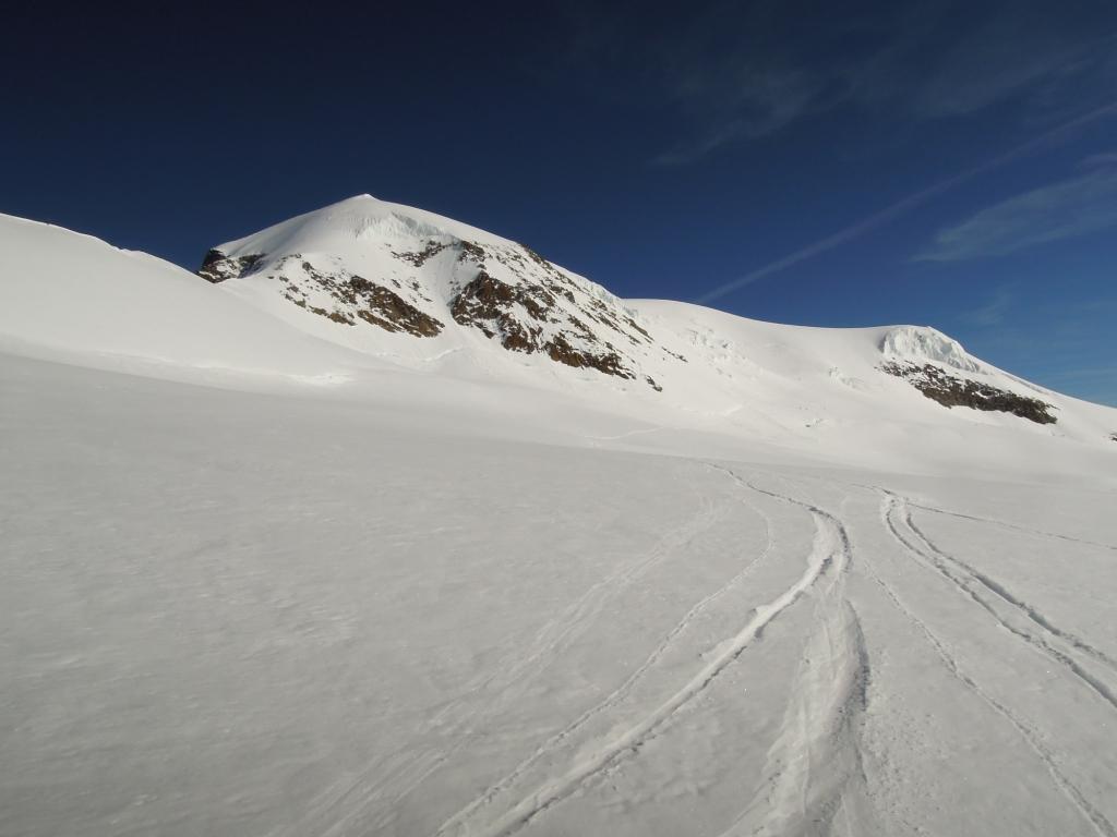 La cima vista dall'Alphubeljoch