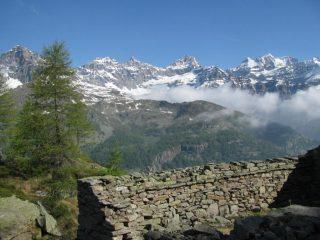 Panorama dall'Alpe Ciarbonera