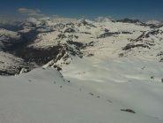 condizioni neve nella parte alta