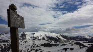 La cima della Tète.