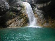 la cascata + alta c 12 o salto