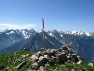 La cima del Monte Autes evitando il ripetitore radio