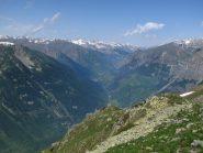 Panorama sull'alta valle Stura