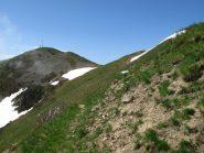In vista della cima del Monte Autes